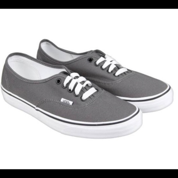 *Final Price*Vans Gray Old School Classic Lace Up